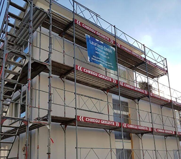 Fassadenrenovation,-Maler-Laurianti-in-Oberentfelden
