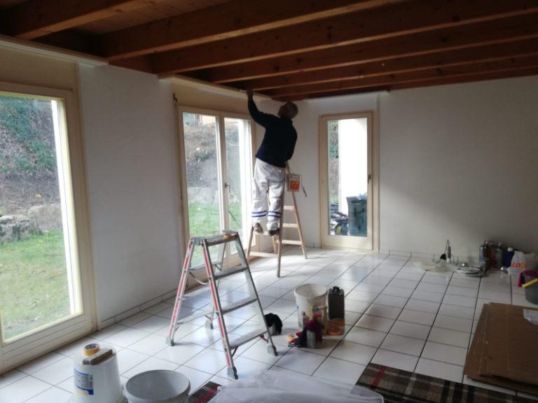 Umbau, Renovation, Maler Laurianti in Oberentfelden